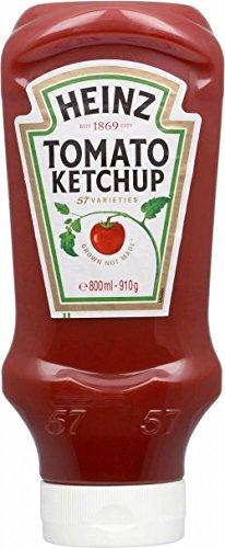 Heinz Tomato Ketchup - Dall'Alto Verso Il Basso (910g) (Confezione da 6)