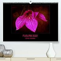 FLEURS 2022 ( FR - Version ) (Premium, hochwertiger DIN A2 Wandkalender 2022, Kunstdruck in Hochglanz): Fleurs avec texture (Calendrier mensuel, 14 Pages )