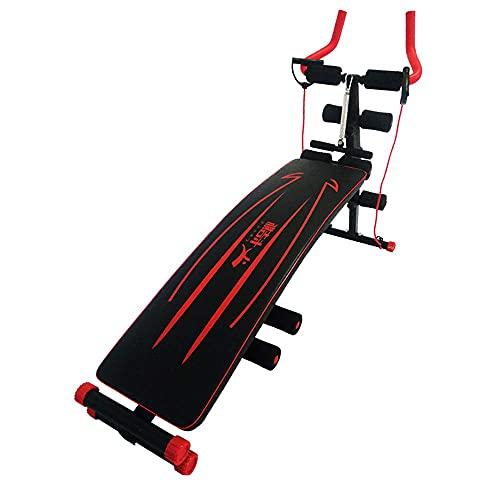 Entrenador abdominal, máquina de ejercicio abdominal plegable, montaña rusa multifunción 2 en...