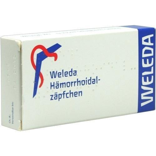 Hämorrhoidalzäpfchen Weleda Zäpfchen, 10 St.