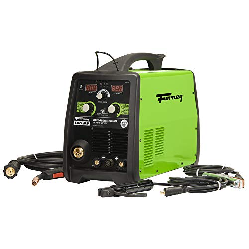 Forney 322 140-Amp MIG/Stick/TIG Multi-Process Welder, 120-Volt,Green