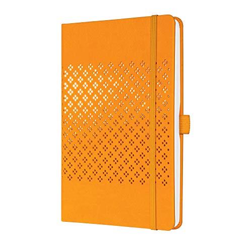 SIGEL JN211 Jolie libreta de notas - a líneas - 13,5 x 20,3 cm - hardcover - 174 páginas - orange