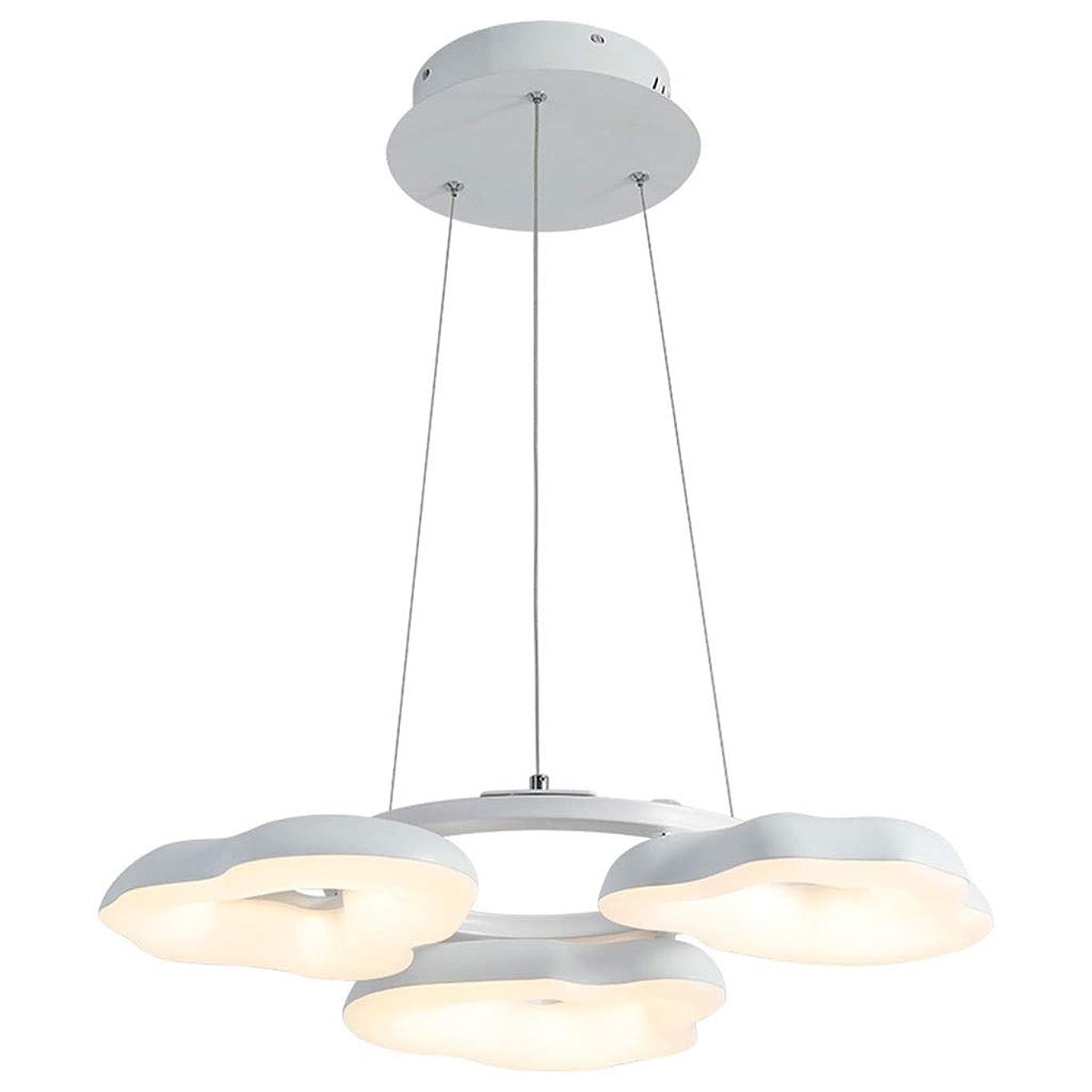 ベッド極地報いる123 LEDシーリングシャンデリアホワイト3ライトモダン寝室のペンダントライトの装飾のための新しい[エネルギークラスA] 456 (Color : A)