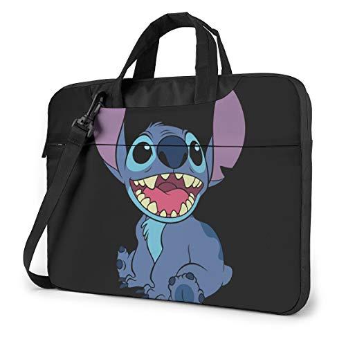 13 Inch Laptop Bag Lilo Stitch Laptop Briefcase Shoulder Messenger Bag Case Sleeve