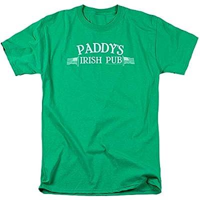 It's Always Sunny in Philadelphia Paddy's Irish Pub Logo Mens Adult T-Shirt Kelly Green