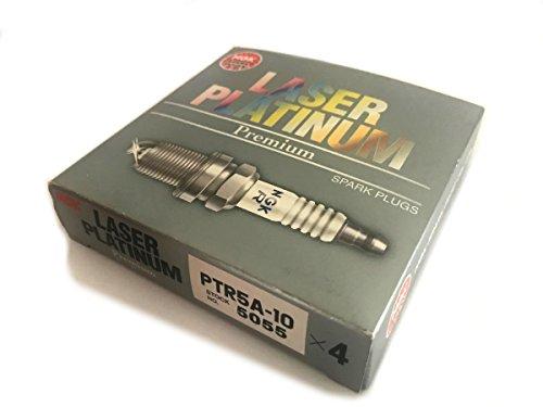 NGK Laser Platinum Zündkerzen – PTR5A-10-5055 – 4 Stück