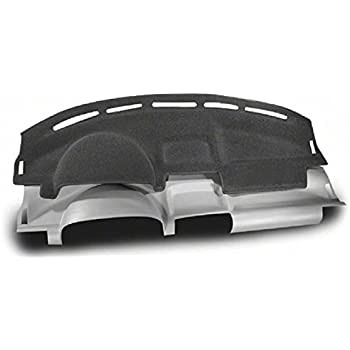 Black Coverking Custom Fit Dashboard Cover for Select Toyota Camry Models Molded Carpet