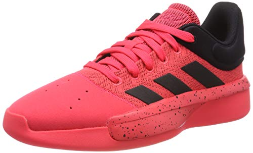 adidas Pro Adversary Low 2019, Zapatos de Baloncesto para Hombre, Rojo (Shock Red/Core Black/Shock Red Shock Red/Core Black/Shock Red), 40 EU