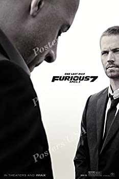 Fast and Furious 7 Movie Poster Glossy Finish Made in USA - MOV284  24  x 36   61cm x 91.5cm