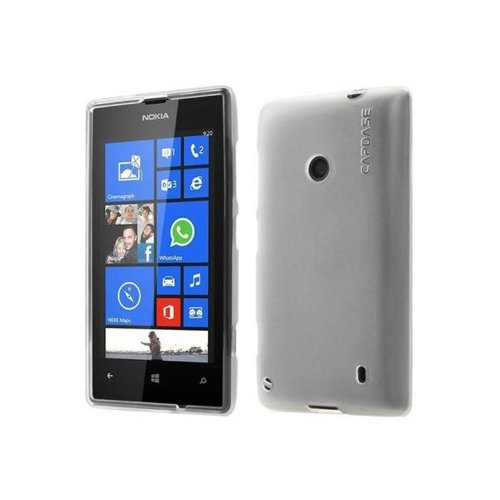 Capdase Soft Jacket Xpose Case for Nokia Lumia 520 (Tinted White)