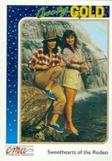 Sweethearts of the Rodeo trading card (Country Music) 1992 Sterling Country Gold #43
