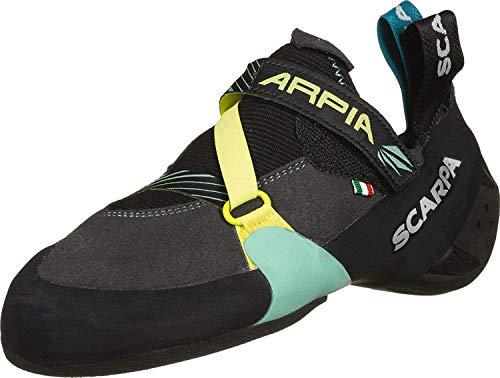 Scarpa W Arpia Blau-Gelb-Schwarz, Damen Kletterschuh, Größe EU 40.5 - Farbe Black - Aqua