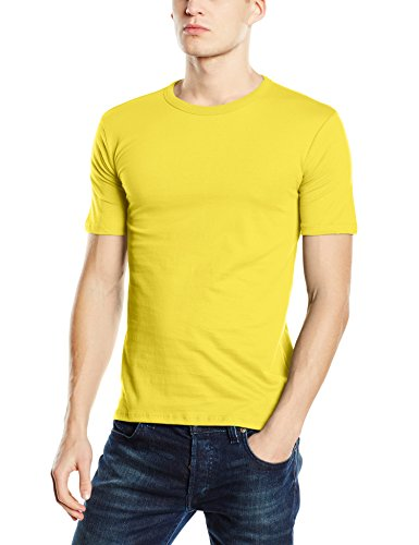Stedman Apparel Morgan (Crew Neck)/ST9020 Premium T-Shirt, Jaune pâquerette, M Homme