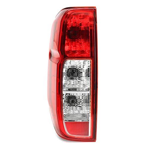 Wooya Freno De Luz Trasera Izquierda/Derecha del Coche Lámpara con Arnés De Cableado para Nissan Navara D40 2005-2015 - Izquierda