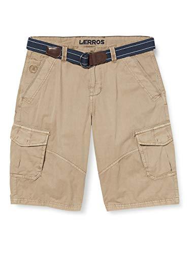 LERROS Herren Bermuda Cargo Shorts, Beige (Soft BEIGE 730), W(Herstellergröße:38)