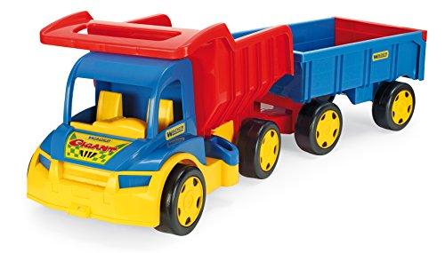 Wader XXL Camión Gigante con Remolque / Carretilla