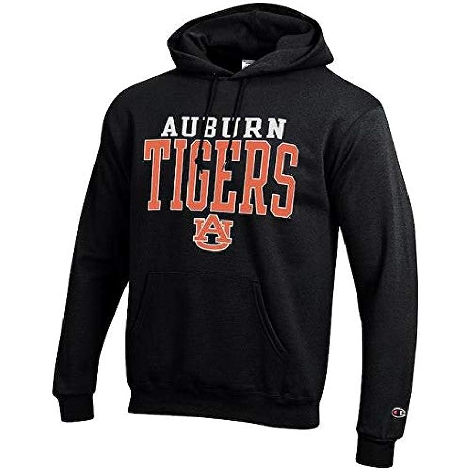 代わって和ルーフChampion Champion Auburn Tigers Navy Core Powerblend Hoodie スポーツ用品 【並行輸入品】