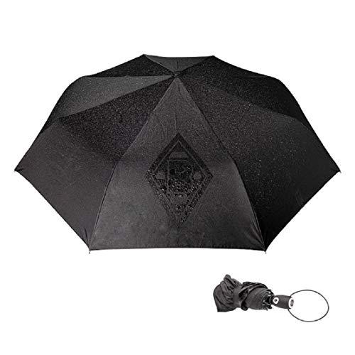 Borussia Mönchengladbach Taschen-Regenschirm Magic schwarz