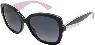 Dior LWR Black White Pink Envol2 Square Sunglasses Lens Category 3
