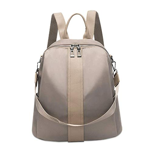 ZLACA New Oxford cloth waterproof backpack female tide fashion canvas...