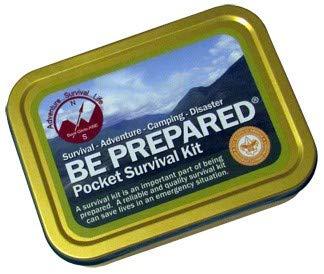 Best Glide ASE Be Prepared Pocket Survival Kit PSK Holder