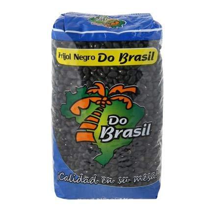 Do Brasil- Frijol Negro - Alubia Negra - Calidad en su Mesa - Producto Brasilero - 1 Kilogramo