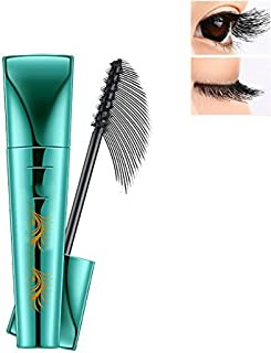 Extend Mascara Lash Mascara 3D Fiber Mascara Liquid Lash Mascara Thick Eyelash Long Lasting with 360 Degrees Spiral Brush Black