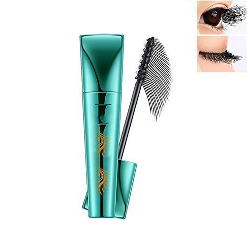 Extend Mascara Lash Mascara 3D Fiber Mascara Liquid Lash Mascara Thick Eyelash Long Lasting with 360 Degrees Spiral Brush Black
