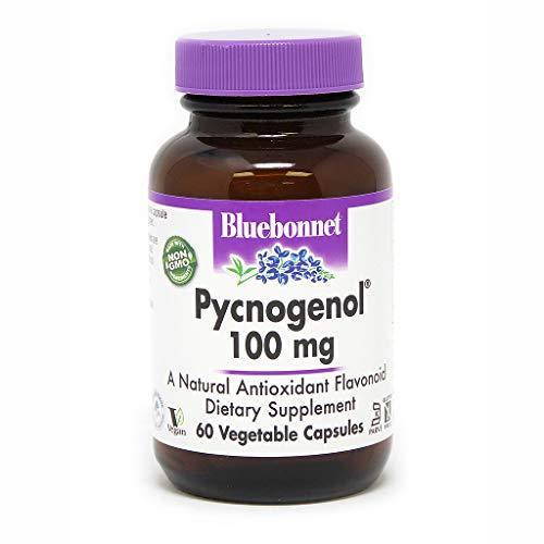BlueBonnet Pycnogenol Vegetarian Capsules, 100 mg, 60 Count (743715008366)