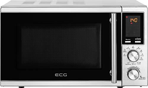 ECG Mikrowelle 700W MTD 2072 SE, Silbern