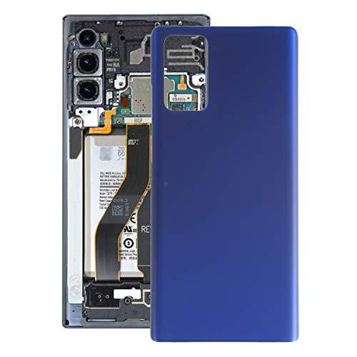 HUANGYUNCHAO HYC Back Cover La batería de la contraportada para Samsung Galaxy Note20 Carcasa Trasera (Color : Blue)