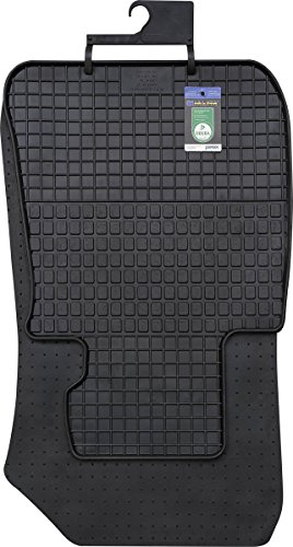 PETEX Gummimatten passend für 3er (E90) Limousine ab 2005-01/2012 / 3er (E91) Touring ab 2005-08/2012 / 3er (E92) Coupe ab 10/2006-08/2013 Fußmatten schwarz 4-teilig