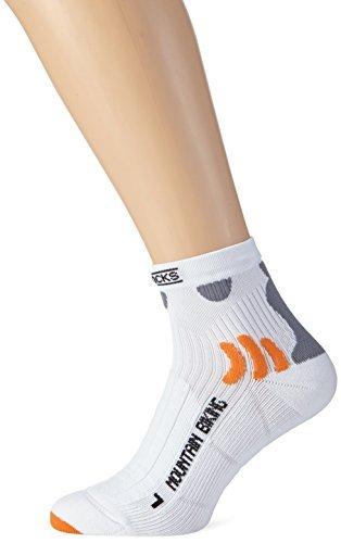 X-Socks Adults Mountain Biking Socks Multi-Coloured white Size:42/44 (EU) by X-Socks