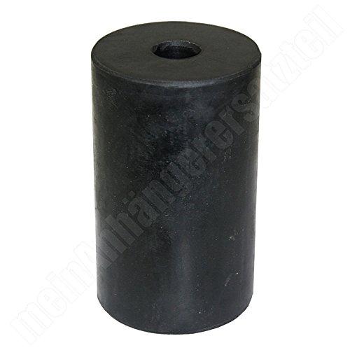 Gummifeder Gummipuffer 63x100mm für DDR Anhänger HP 300 350 400