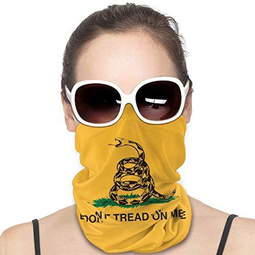 Headwear Gesichtsmaske Do Not Tread On Me Gelb Snake Sport Stirnband Bandana Neck Gaiter Schal