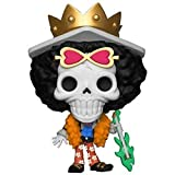 Funko Pop Animation : One Piece - Brook (Exclusive) Figure 3.75inch Vinyl Gift for Anime Fans SuperCollection