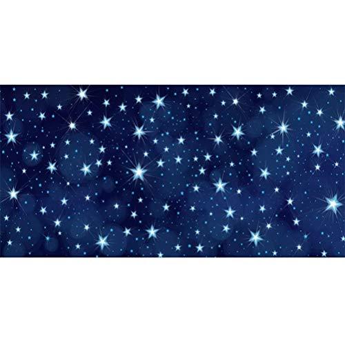 vrupi Starry Nightsky Galaxy 20x10ft Fotografía Vinilo Fondo Estrellas centelleantes Universo Misterioso Espacio Exterior Telón Fondo Niño Bebé Adulto Retrato Disparo Boda Cumpleaños Baby Shower