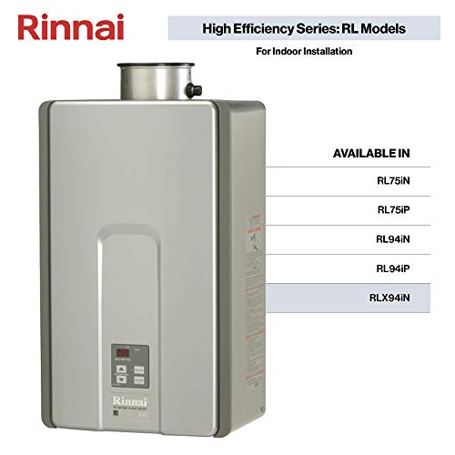 Rinnai RLX Series HE+ Tankless Hot Water Heater review