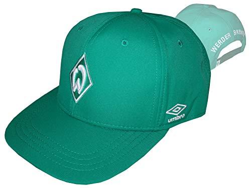 Umbro Werder Bremen Fan Basecap grün SVW Fußball Kappe Mütze Werder Fanartikel, Größe:OSFA (Adult)