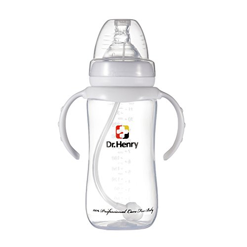 Affordable Per Baby Feeding Bottle with Straw and Handles Wide Mouth Breastfeeding Nursing Bottles B...