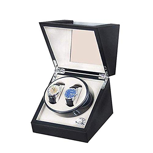 YLJYJ Solid Wood Meter Shaker Automatic Chain Motor Case Watch Care Box Exquisite Pattern Texture