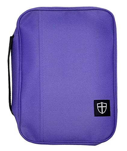 Armor of God Bible Cover Large Violet
