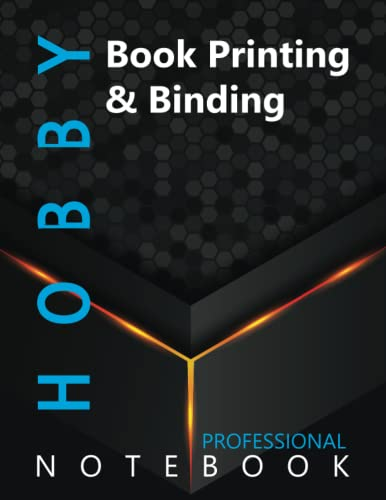 """Compare Textbook Prices for Hobby, Book Printing & Binding Ruled Notebook, Professional Notebook, Writing Journal, Daily Notes, Large 8.5"""" x 11"""" size, 108 pages, Glossy cover  ISBN 9798498383361 by Pro Hobby  Cre8tive Press"""