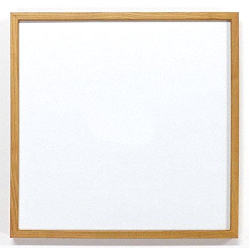 同志舎 正方形額縁 35角(350×350mm) L型 アクリル仕様 (木地)