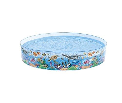 Intex 58472NP - Snap-Set Coral Reef Pool, Durchmesser 244 x 46 cm