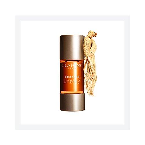 Clarins Crema hidratante facial (energía de refuerzo) 0,5 onzas Claro
