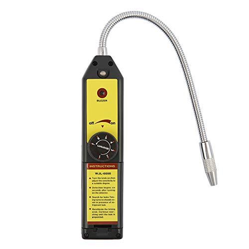 HDE Refrigerant Leak Detector HFC CFC Halogen Freon Air Conditioning Tester Adjustable Sensitivity HVAC Inspection Tool