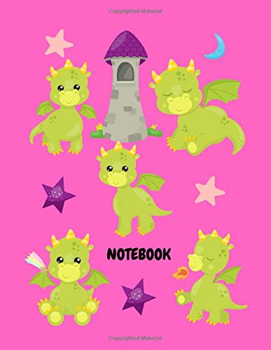 Dragon Notebook: Blank Comic Book For Kids, Sketchbook for Fun and Adults to Unleash Creativity