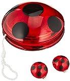 Rubie's - Kit d'accessoires Officiels Ladybug Miraculous - YoYo et Boucles d'oreilles Ladybug- I-32930