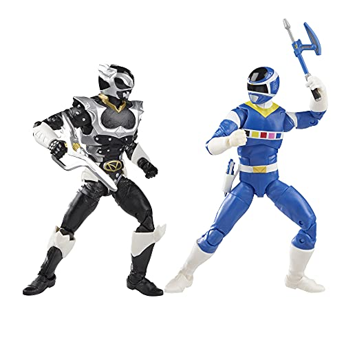 Power Rangers Lightning Collection in Space Blue Ranger Vs. Silver Psycho Ranger 2-Pack 6-Inch Premium Collectible Action Figure Toys